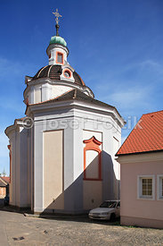 St. Vaclav Church, Litomerice, Czech Republic