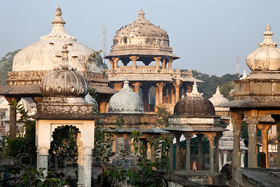 Ahar Royal Cenotaphs, Udaipur, Rajasthan, India
