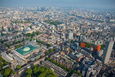 British Museum Aerial View Aerial View of The British