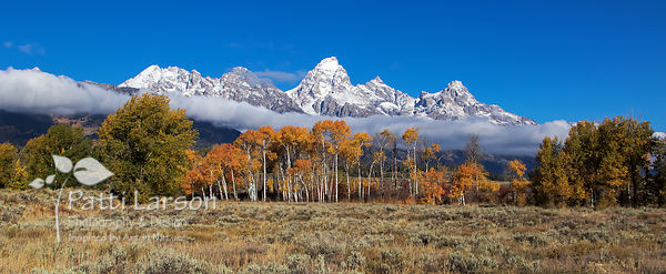 Grand Tetons in Autumn