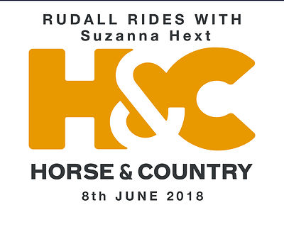H&C TV RUDALL RIDES WITH SUZANNA HEXT photos
