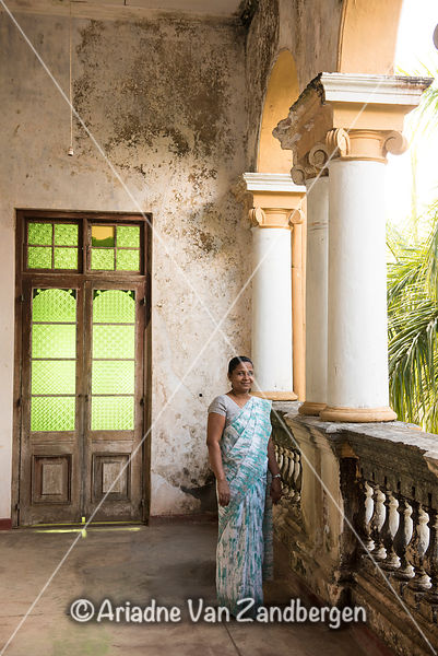 Richmond Castle, two-storey mansion built in 1896 in a mix of British and Indian style, Palatota, Kalutara, Sri Lanka