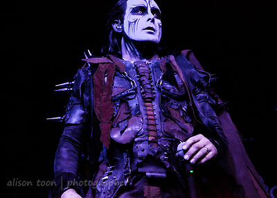 Dani Filth, vocals, Cradle of Filth