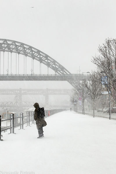 Cold on the Quayside