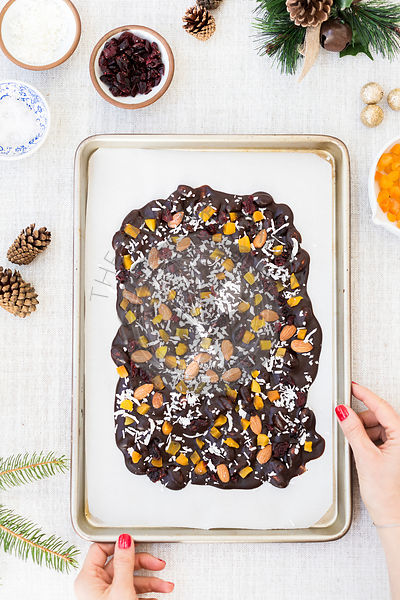Almond Chocolate Bark