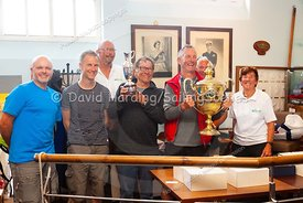 Prize-giving at Weymouth Regatta 2018, 20180909032.