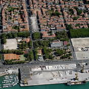 Marina di Carrara aerial photos