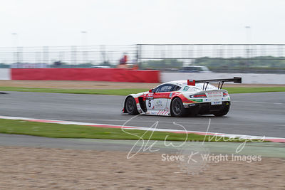 Oman Racing Aston Martin Vantage GT3, in action at the Silverstone 500 - the third round of the British GT Championship 2014 - 1st June 2014