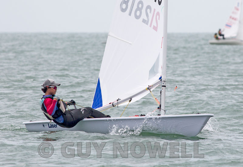 Laser 212818. Top of the Gulf Regatta 2018.