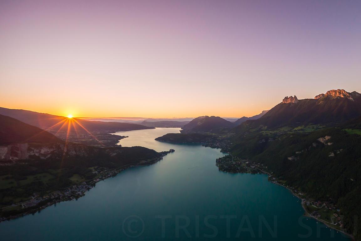 lac coucher de soleil - photo #46