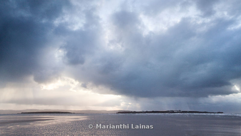 Stormclouds over Hilbre