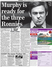 Daily Express 23 April 2011.3434087 - Steven Paston