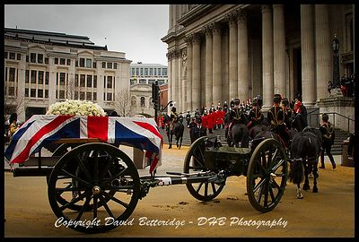 The Funeral of Baroness Thatcher  photos