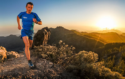 Running at Sunset with Sebastien Chaigneau