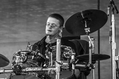 Ian Peterson of Fallrise at Aftershock 2014
