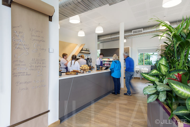 The Sill: reception desk and cafe | Client: Nick James Design