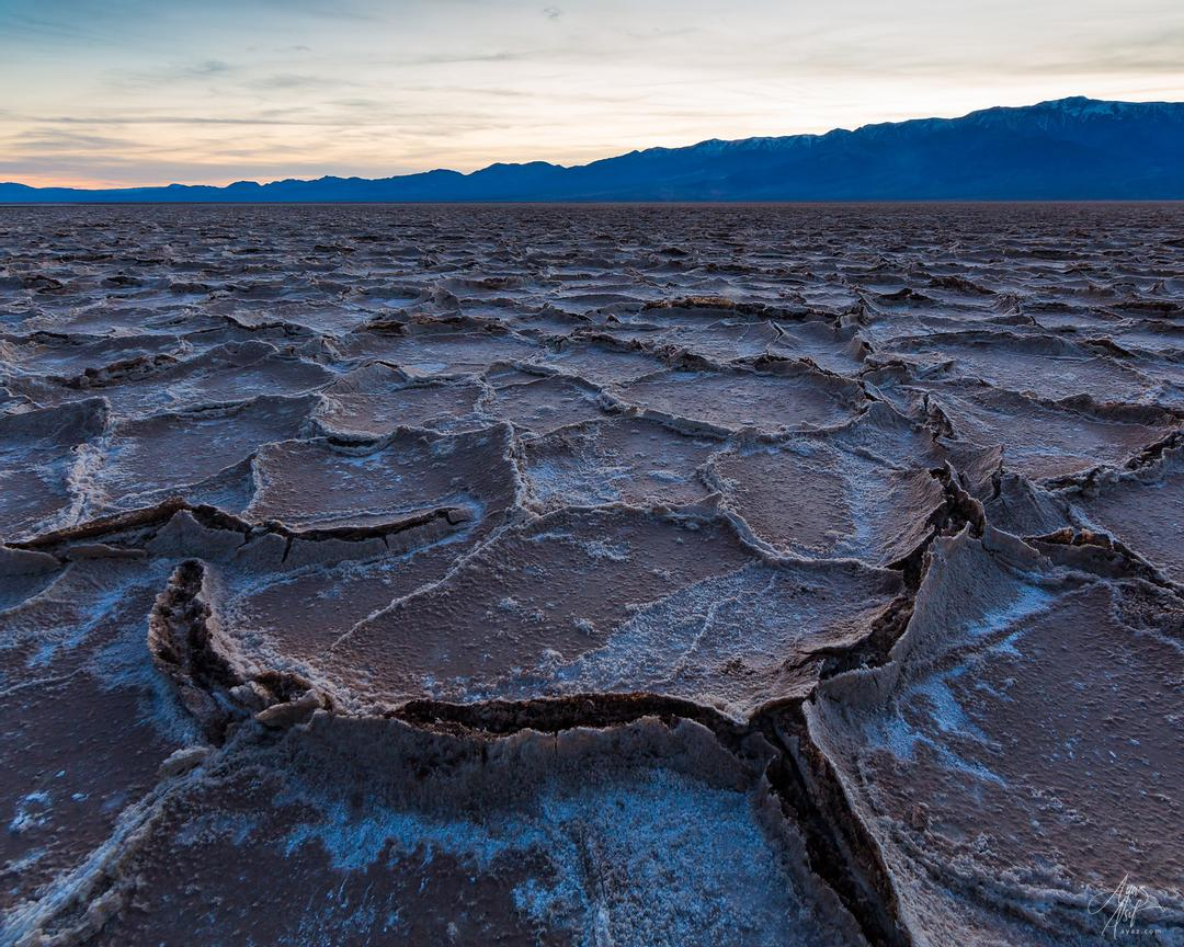 Salt Flat Cracks