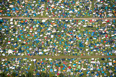A Campingflight to Lowlands Paradise Music Festival Netherlands