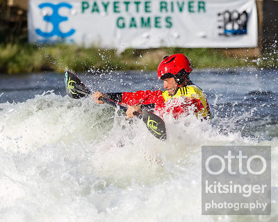 Men's Freestyle Kayak - Mathieu Dumoulin