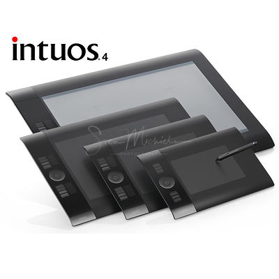 Wacom Intuos 4 photos