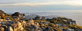 The top of the highest mountain range in Continental Portugal. Serra da Estrela Nature Park (MR)