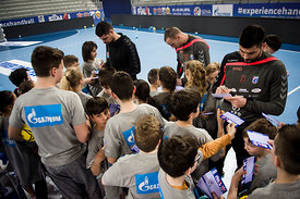during the Final Tournament - Final Four - SEHA - Gazprom league, Kids Day, Varazdin, Croatia, 02.04.2016, ..Mandatory Credit ©SEHA/Saša Pahič Szabo