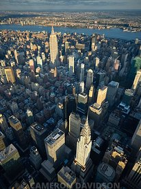 Aerial photograph of Midtown New York City
