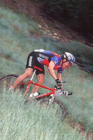 NED OVEREND BIG BEAR, USA. NORBA NPS 1995