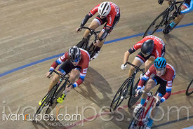 Junior Men Keirin 1-6 Final, 2017/2018 Track Ontario Cup #2, Mattamy National Cycling Centre, Milton On, January 14, 2018