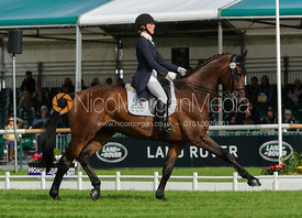 Dee Hankey and CHEQUERS PLAYBOY - Burghley 2015