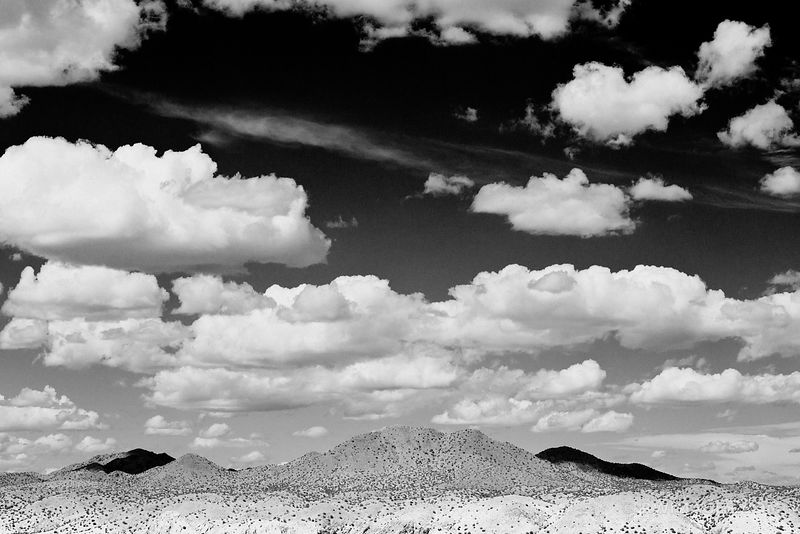 TURQUOISE TRAIL NEW MEXICO BLACK AND WHITE