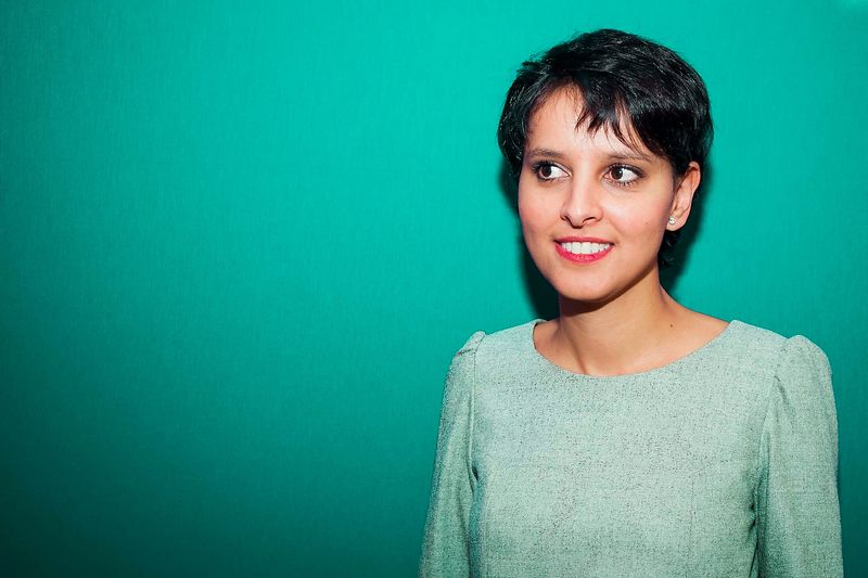 Najat Vallaud Belkacem. Ministre de l'Education nationale.