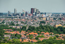 Cityscape of THE Hague Netherlands