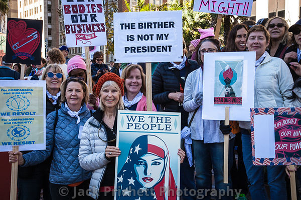 JAN 21 Women's March, LA photos