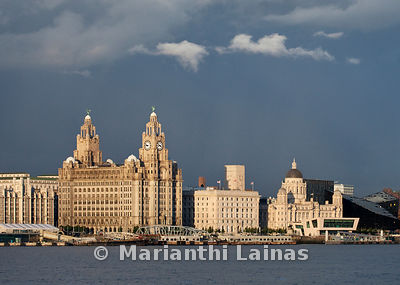 Stormy Sky over the Three Graces