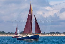 Rascal, Cornish Shrimper 859, Poole Regatta 2018, 20180527253