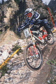 TRACY MOSELEY CORTINA, ITALY. TISSOT MOUNTAIN BIKE WORLD CUP 2000