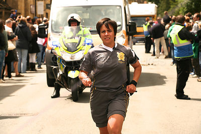 Olympic Torch Relay Security Team Officer