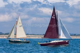 Rusty, 834, Cornish Shrimper, Poole Regatta 2018, 20180527255
