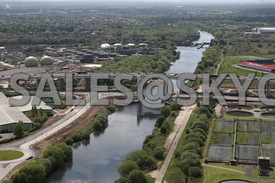 Port Salford Aerial photographs