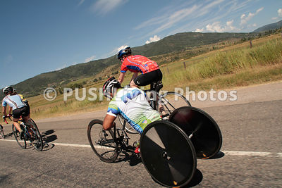 Handcycle Road Racing