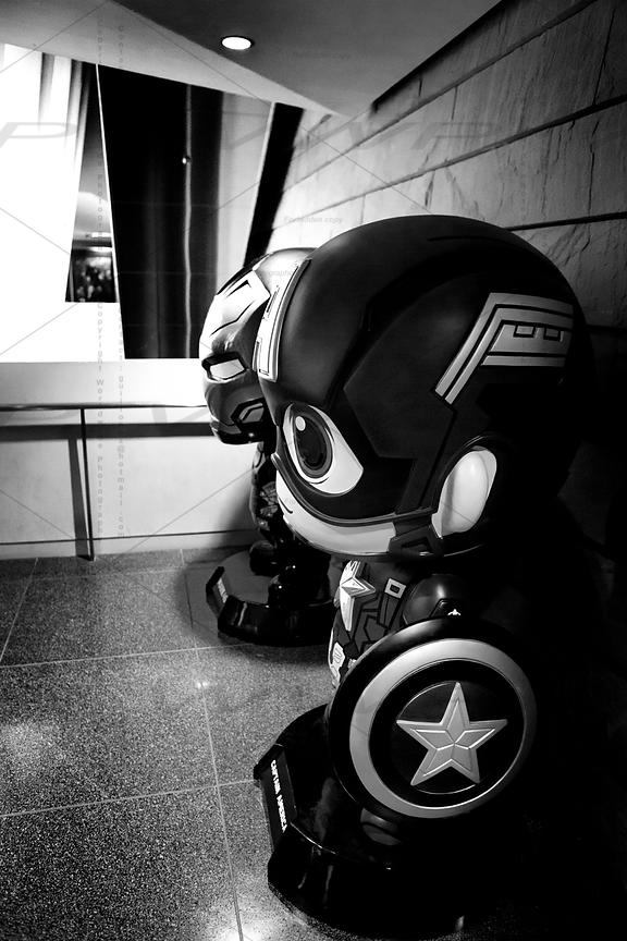 Marvel Heroes in Real