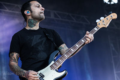 Joe Principe, bass, Rise Against