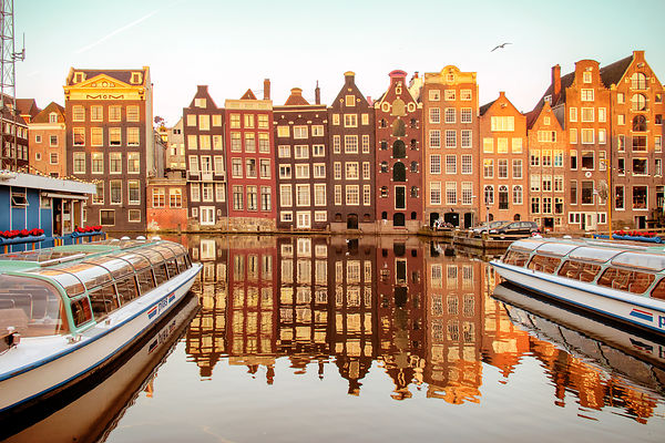 Postcard from Amsterdam (Holland). photos