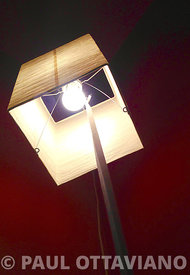 Rouge Room Lamp