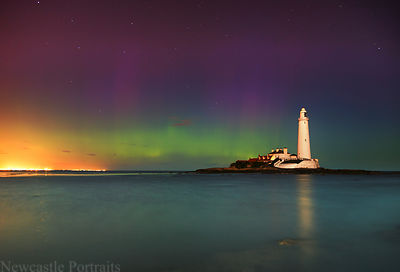 St. Mary's Lighthouse Aurora