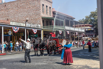 Fire of 1852, Gold Rush Days 2016