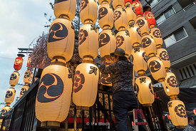 The Gion Festival takes place annually in Kyoto and is one of the most famous festivals in Japan. It goes for the entire month of July.