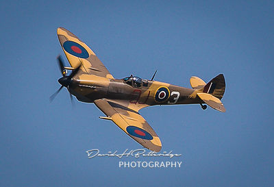 Spitfire MK356 from the Battle of Britain Memorial Flight one of many flying displays at the festival.