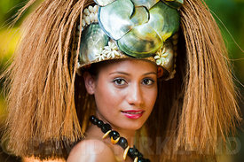 Traditional custume, Samoa